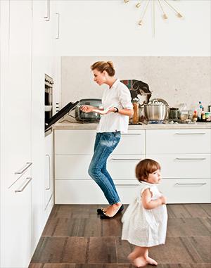 Идеальный кухонный пол
